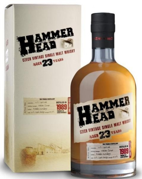 Hammer Head Vintage Single Malt 23 Years 70 cl / 40.7 % Tschechien