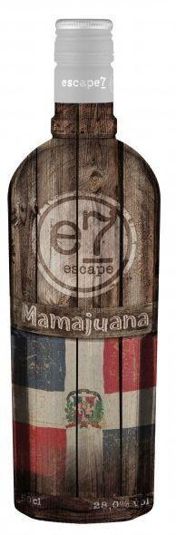 MAMAJUANA Escape 7 Rumlikör 70 cl / 28 % Dom. Rep.