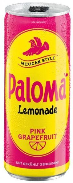 PALOMA Lemonade Pink Grapefruit 250 ml Deutschland