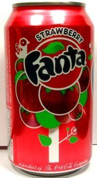 Fanta Strawberry 355 ml USA