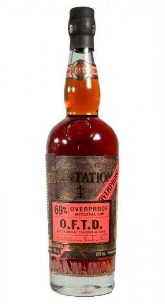 PLANTATION O.F.T.D. Overproof Rum 70 cl / 69 % Karibik