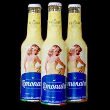 Macario LIMONATA Retro Drink Kiste 24 x 275 ml Italien