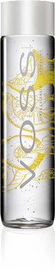 VOSS FLAVORED Sparkling Water LEMON - CUCUMBER 375 ml Norwegen