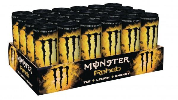 MONSTER Energy Rehab Kiste 24 x 355 ml UK