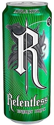 Relentless APPLE - KIWI Energy Drink 500 ml UK