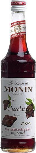 MONIN Premium Chocolat / Chocolate Sirup 70 cl Frankreich