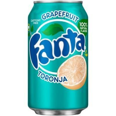 Fanta Grapefruit - TORONJA 355 ml USA