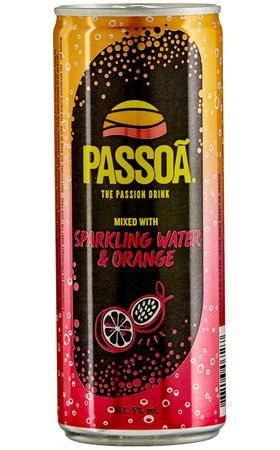 PASSOA Sparking Water & Orange 250 ml / 5 % Frankreich