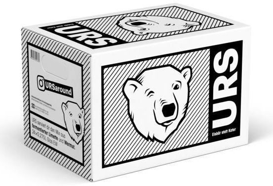 URS Limonade Alkoholfrei Kiste 24 x 275 ml Deutschland