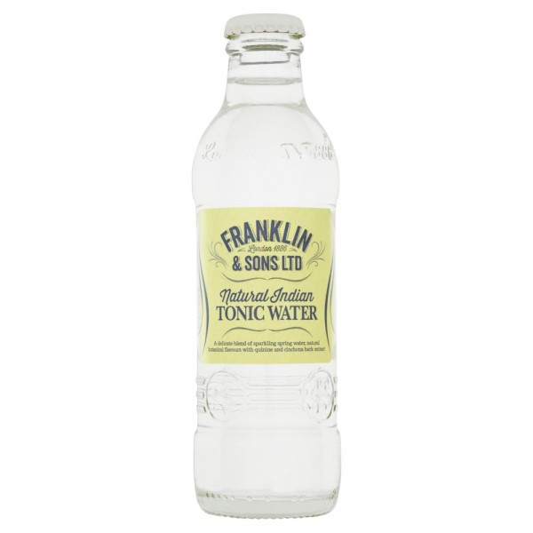 Franklin & Sons Natural Indian TONIC Water 200 ml UK