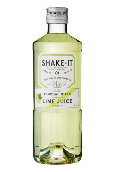 Shake- It 01 LIME JUICE Original Cordial Mixer Alkoholfrei 50 cl Dänemark