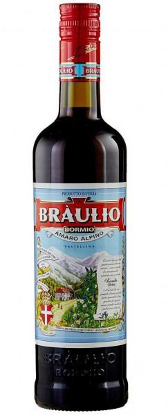 BRAULIO Amaro Alpino 70 cl / 21 % Italien