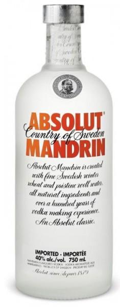 Absolut Vodka MANDARIN 70 cl / 40 % Schweden