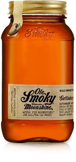 Ole SMOKY Tennessee MOONSHINE Apple Pie Whisky 50 cl / 20 % USA