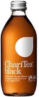 ChariTea black 330 ml Deutschland