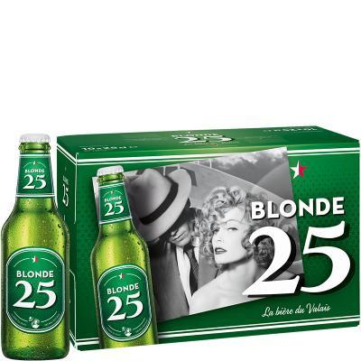 Valaisanne BLONDE 25 Kiste 24 x 250 ml / 4.8 % Schweiz