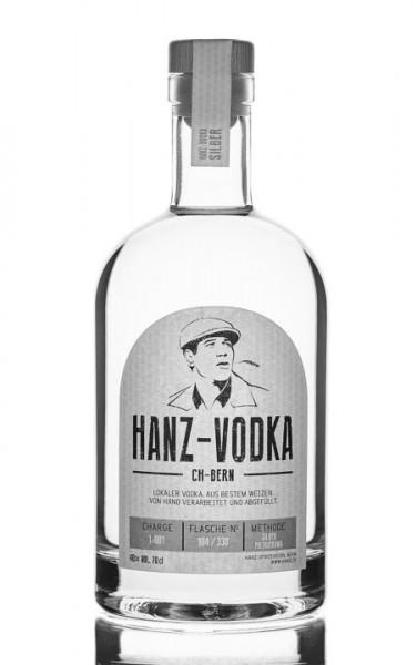 HANZ Handmande Vodka aus Bern Vodka 70 cl / 40 % Schweiz