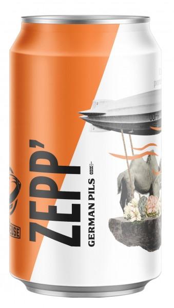 Nébuleuse ZEPP German Pils 330 ml / 4.7 % Schweiz