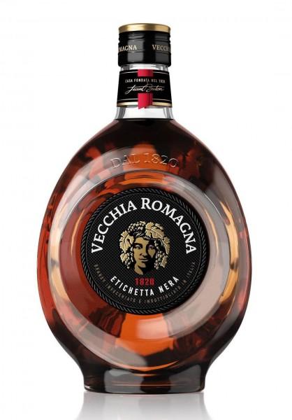 VECCHIA Romagna Etichetta Nera Brandy 70 cl / 38 % Italien