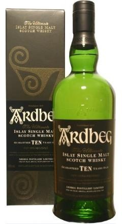 ARDBEG 10 Years Islay Single Malt Scotch Whisky 70 cl / 46 % Schottland