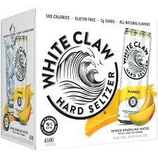 White Claw HARD SELTZER MANGO Kiste 24 x 355 ml / 5 % USA