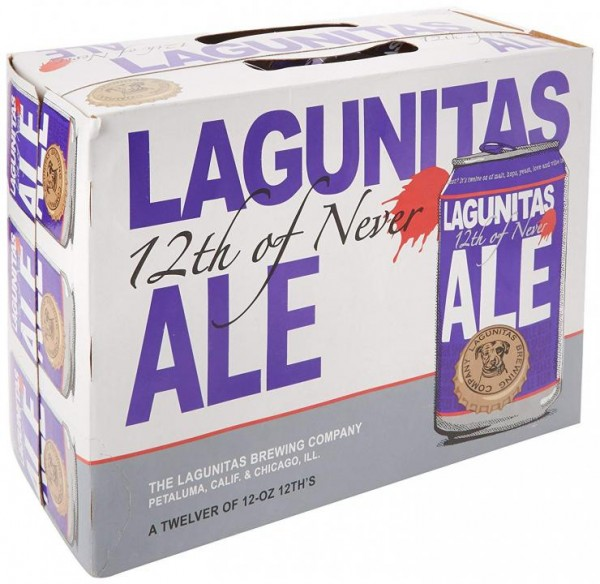 LAGUNITAS 12 th Never Ale Dose Kiste 24 x 355 ml / 5.5 % USA
