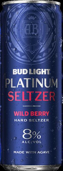Bud Light PLATINUM Hard Seltzer WILD BERY 355 ml / 8 % USA