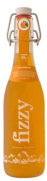 Gazosa FIZZY Mandarine Glasflasche 20 x 350 ml Schweiz