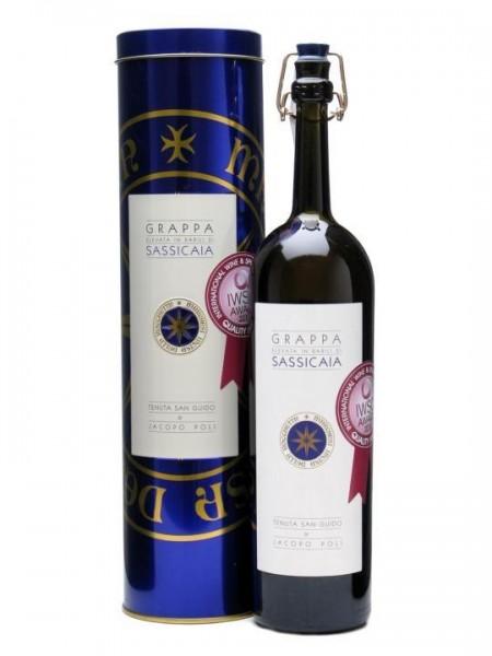 Jacopo Poli Grappa DI SASSICAIA 50 cl / 40 % Italien