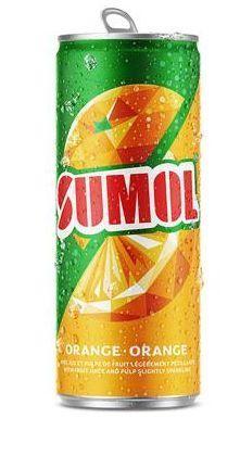 SUMOL ORANGE Limonade 330 ml Portugal