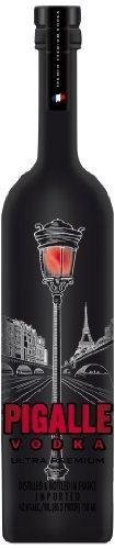 Pigalle ULTRA Premium Vodka RED LAMP POST DESIGN 4.5 Liter / 42,6 % Frankreich