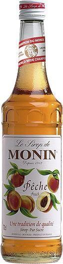 MONIN Premium Peche / Peach Sirup 70 cl Frankreich