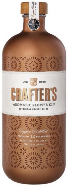 CRAFTER'S Aromatic Flower Gin 70 cl / 44.3 % Estland