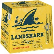 LANDSHARK Lager Bier Kiste 24 x 355 ml / 5 % USA