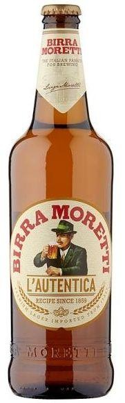 Birra MORETTI Premium Lager XXL 660 ml / 4.6 % Italien