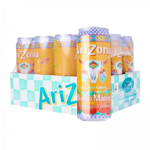 Arizona Mucho Mango Case 24 x 680 ml USA