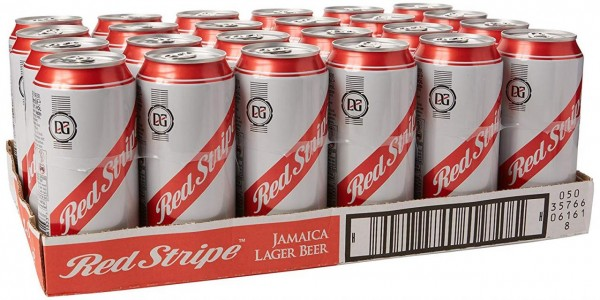 Red Stripe Cans Case 24 x 440 ml / 4.7 % Jamaica