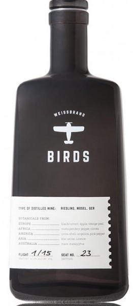 Weissbrand Birds ( Weinbrand ) 50 cl / 42.2 % Deutschland