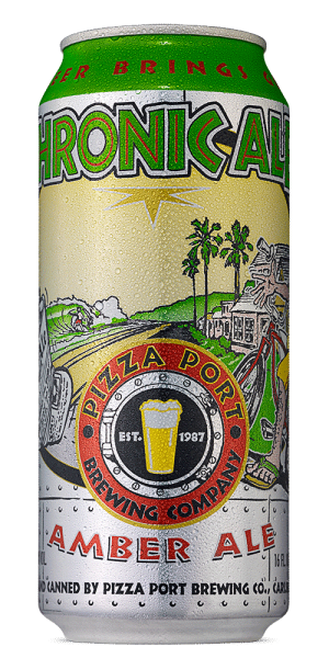 Pizza Port CHRONIC Amber Ale Dose 473 ml / 4.9 % USA