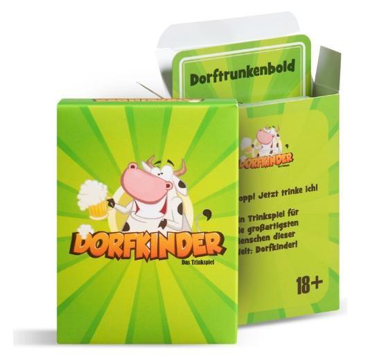 DORFKINDER Trinkspiel mit 55 Karten by Spielhelden Deutschland