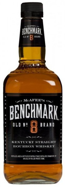 BENCHMARK Old No. 8 Brand Kentucky Straight Bourbon Whiskey 70 cl / 40 % USA