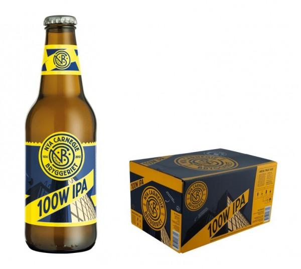 NYA Carnegie 100W IPA Beer Case 24 x 330 ml / 6.8 % Schweden