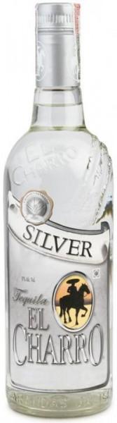 EL CHARRO SILVER - Blanco Tequila Doppelmagnum 300 cl / 38 % Mexiko