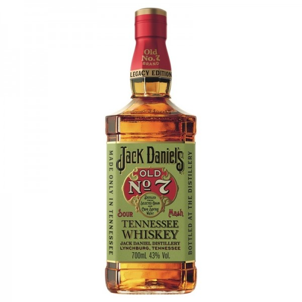 JACK DANIEL'S LEGACY 1 Old No 7 SOUR MASH Whiskey 70 cl / 43 % USA
