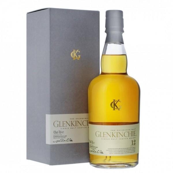 GLENKINCHIE 12 Years Classic Malts Lowland Single Malt Scotch Whisky 70 cl / 43 % Schottland