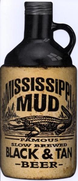Mississippi Mud Black & Tan Porter & Pilsner 946 ml / 5 % USA