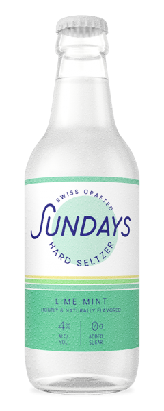 Sundays Hard Seltzer LIME MINT 330 ml / 4 % Schweiz
