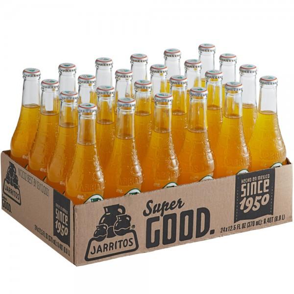 JARRITOS PASSION FRUIT natural flavor soda Kiste 24 x 370 ml Mexiko