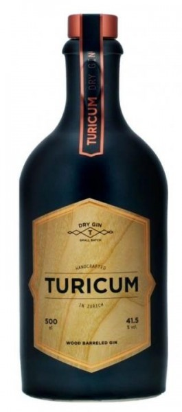 TURICUM WOOD BARRELED Zürich Gin 50 cl / 41.5 % Schweiz