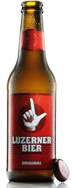 LUZERNER Bier Original 330 ml / 5 % Schweiz